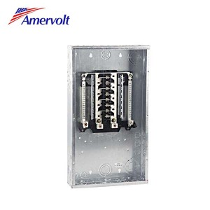 AMLM1212F Hot sale 12 way economy residential load center electric panel board flush type