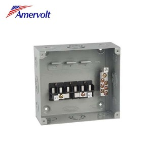 MTSD1-6-F Best Quality 6 way 120/240v superior outdoor main breaker distribution load center