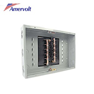 MTLS-12 Low Price 12 way electrical distribution box manufacturers industrial distribution box Load center outdoor