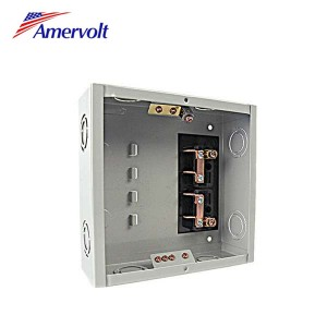 MTLS-4 Wholesale 4 way residential plug in distribution board load center box cover