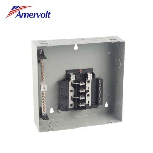 MTL612F New product superior low voltage main distribution board 6way 125a plug- in type electrical load center