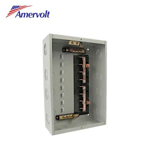 AMLSWD-8 CE Approvaled 8way gray economic outdoor electrical load center breakers