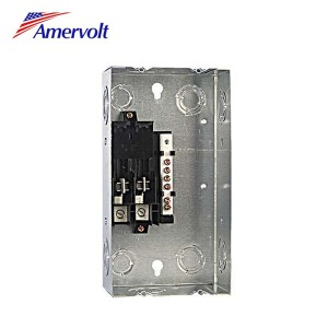 MTL240S High quality industrial distribution box outdoor low voltage panel board meto 2 way load center