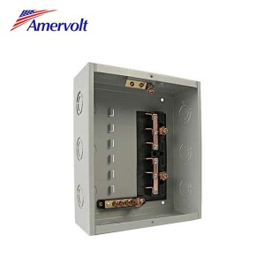 AMLSWD-6 2017 Newest Design 125a 6way squared electrical power plug- in type economic load centers panelboard
