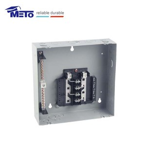 MTL812FD Meto 125a rectangle power plug-in 8 way distribution box load center price