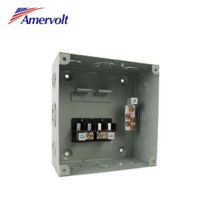 AMSD1-4-S Customized electric residential 4 way modular enclosure square d load center panel board