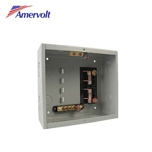 AMLSWD-4 The Cheapest 4 way 120/240v economy electrical panel single phase customized load center